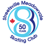 The Streetsville Meadowvale Figure Skating Club Logo